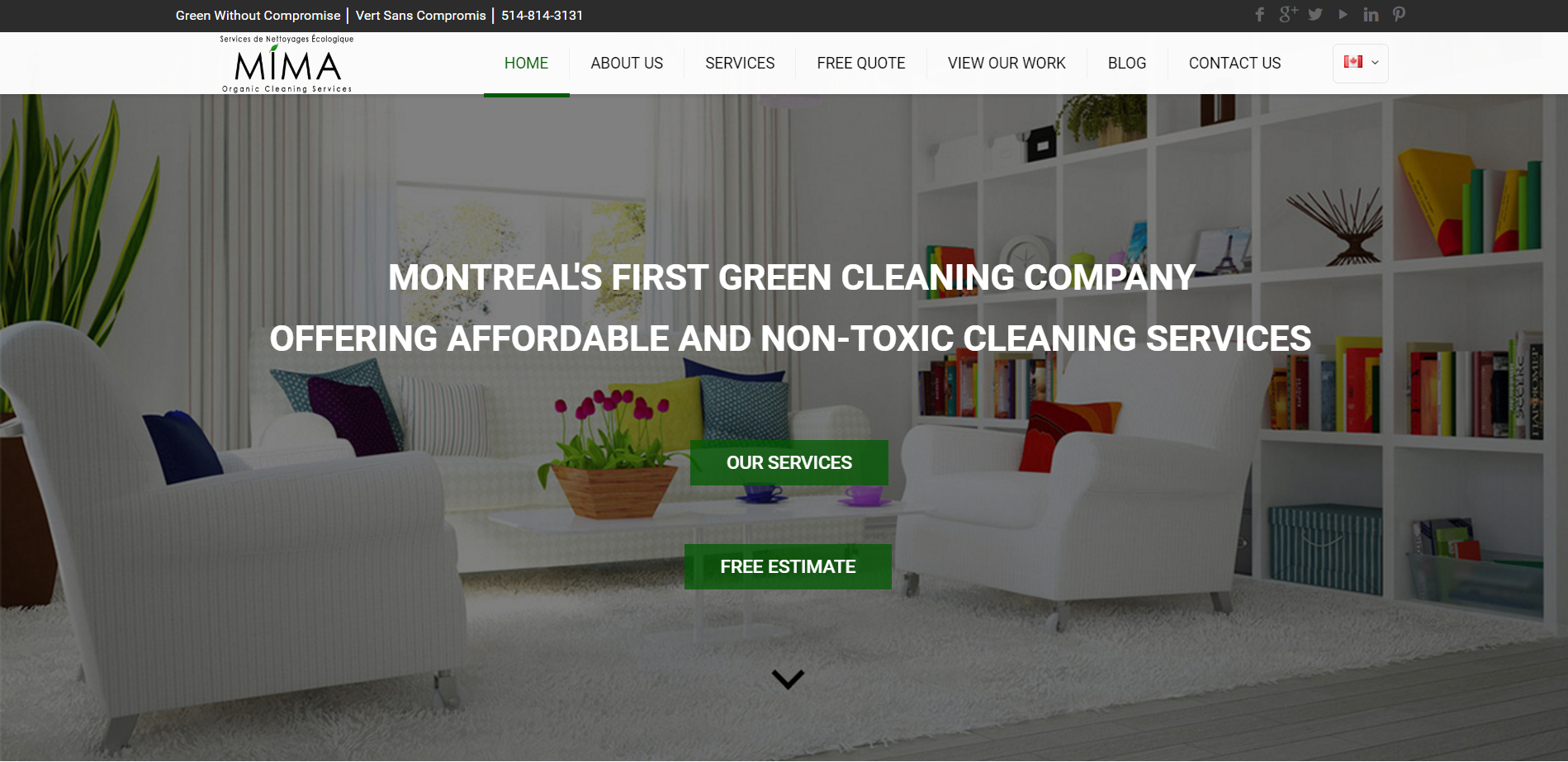 Welcome to MiMa Organic Cleaning Services Non Toxic Carpet Cleaning