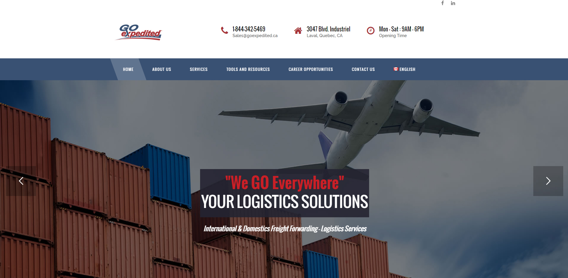 _Go Expedited – International Domestic Freight Forwarding Services