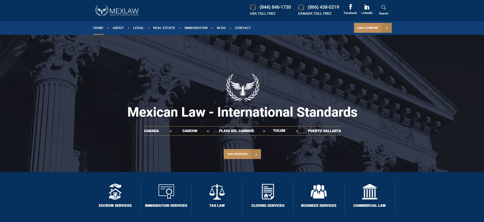 MEXLAW Mexican law firm operated by Canadian and American Lawyers