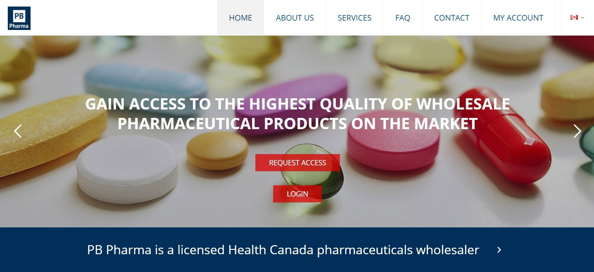 PB Pharma Canada – Licensed Pharmaceutical Wholesaler