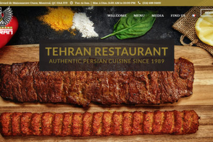 Tehran Restaurant - Authentic Persian Cuisine Since 1989