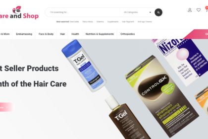 Care and Shop - Online Health & Beauty Store